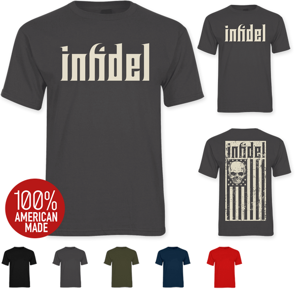 The Infidel Flag Tee Combo - Tee, Hat & Decal - Save $14.98