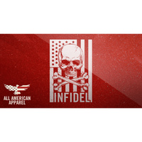 Infidel Skull Decal