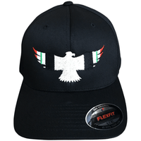 58ab12bc Iraq Ribbon Military Eagle Flexfit Hat | OIF Veteran Hat - Eagle Six Gear