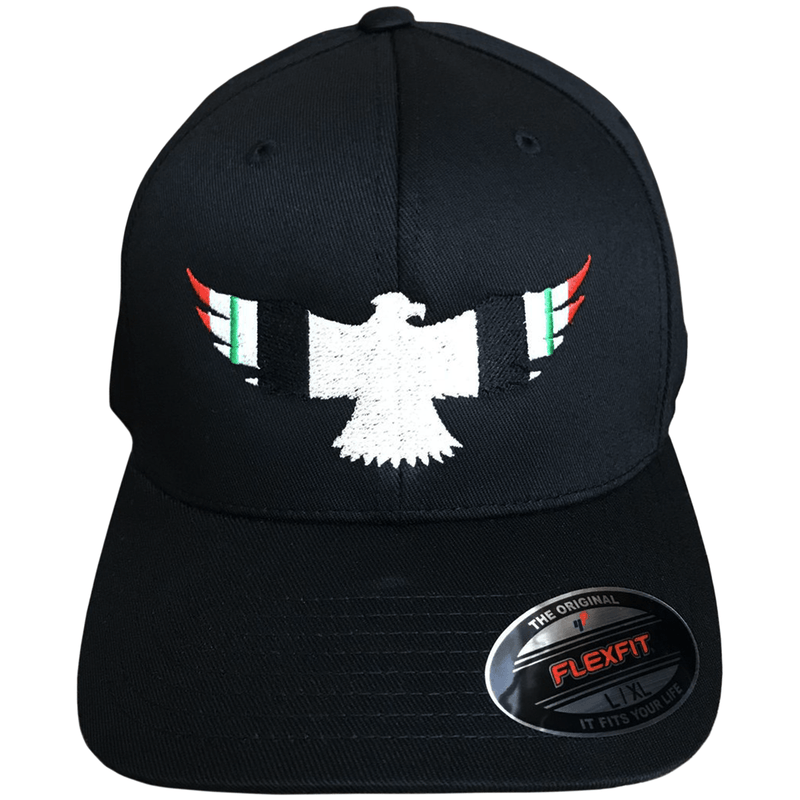 Iraq Ribbon Military Eagle Flexfit Hat