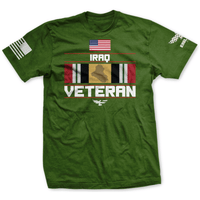 Iraq Veteran American Made Tee