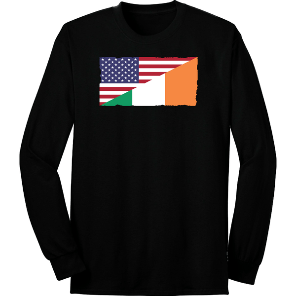 Irish American Flag Long Sleeve
