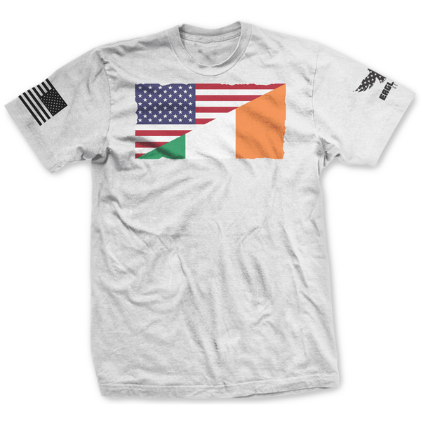 Irish American Flag Tee