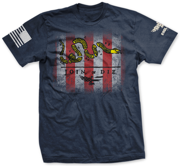Join or Die Tee - 100% American Made