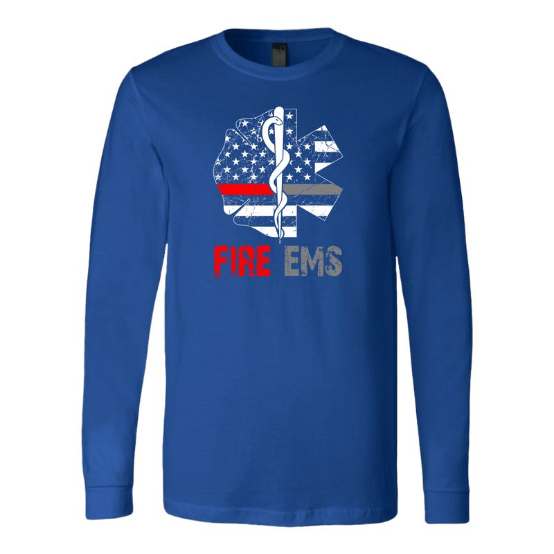 Brothers In Arms Fire EMS Long Sleeve