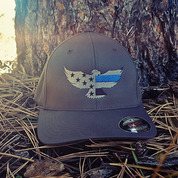 LEO Six - Thin Blue Line Eagle Hat