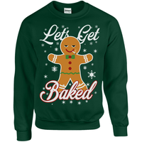 Let's Get Baked Christmas Sweater