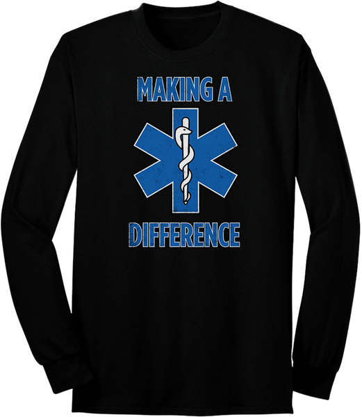 Making A Difference Long Sleeve
