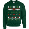 Military Themed Ugly Christmas Sweater