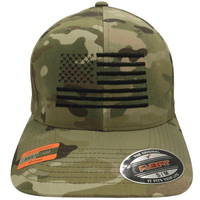 Multicam Flexfit Flag Hat
