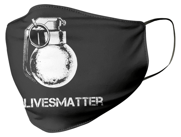 #nolivesmatter Face Mask