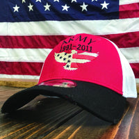 Personalized Army Eagle Vintage Mesh Hat