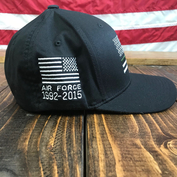 Personalized Military Flexfit Flag Hat