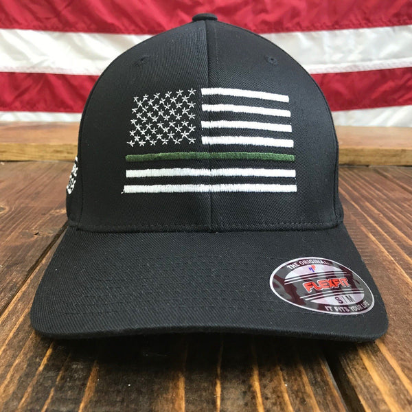 Military Flexfit Flag Hat