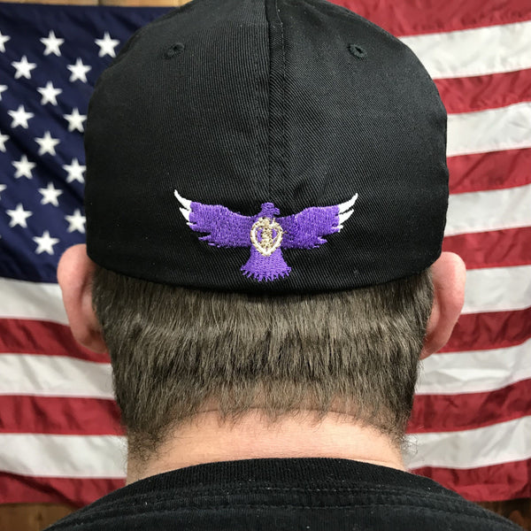 Purple Heart Stealth Cap