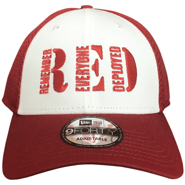 R.E.D. Stretch Mesh Adjustable Hat