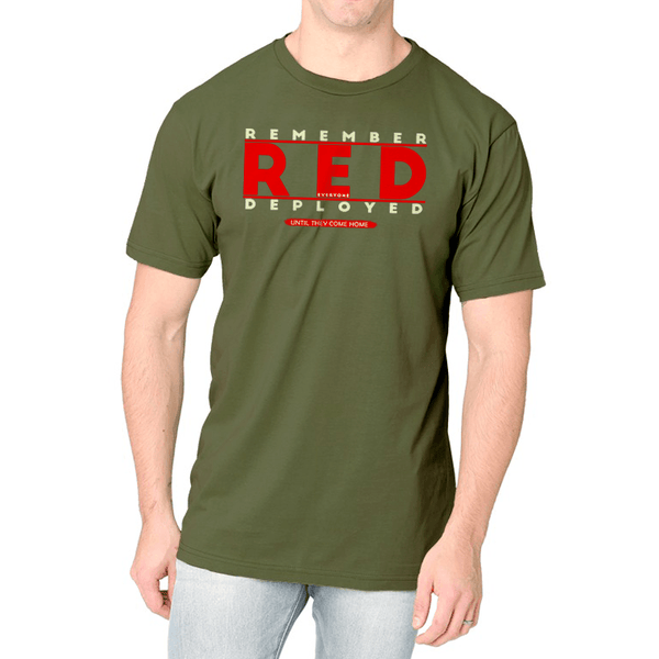 R.E.D. - Until They Come Home Tee