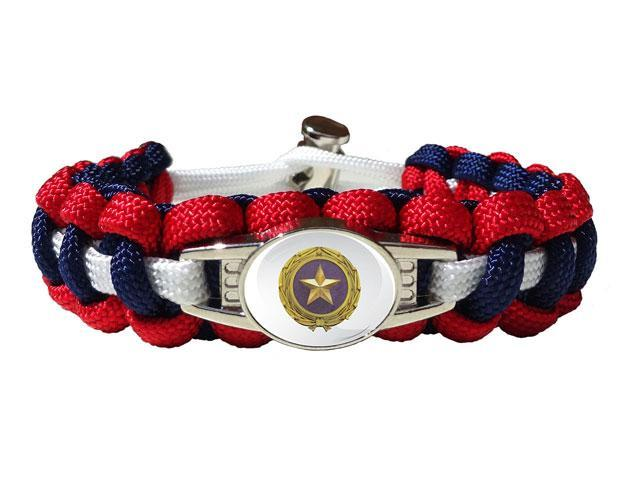 Gold Star Family Paracord Bracelet