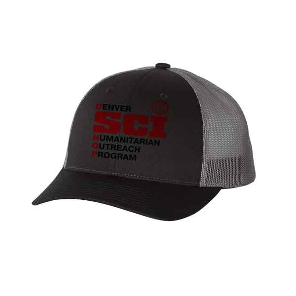 SCI HOP Low Profile Trucker Cap