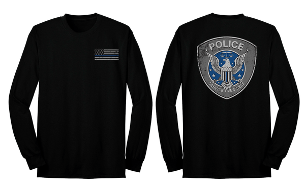 Service Over Self Long Sleeve