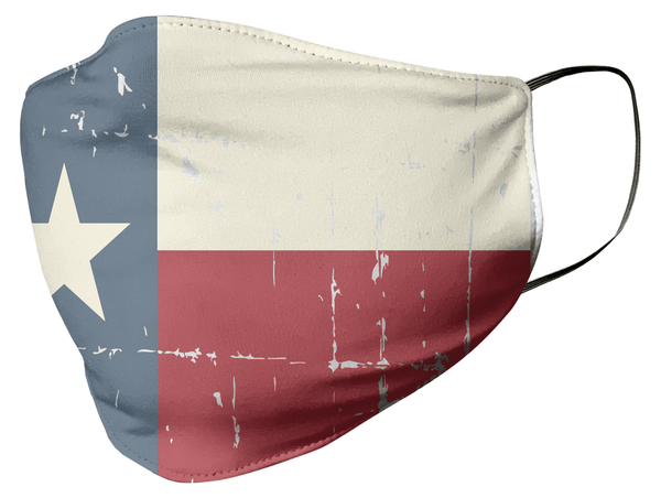 Texas State Flag Face Mask