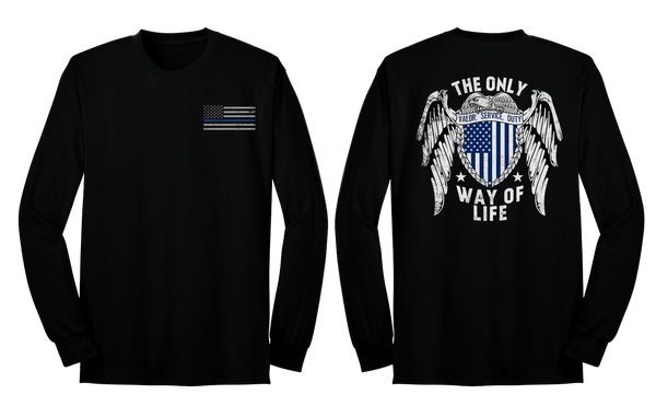 The Only Way of Life Long Sleeve