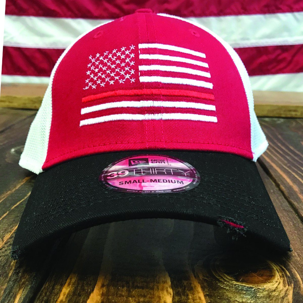 The Thin Red Line Vintage Mesh Hat - Discontinued