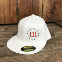 Threeper Flat bill Flexfit Hat - Discontinued