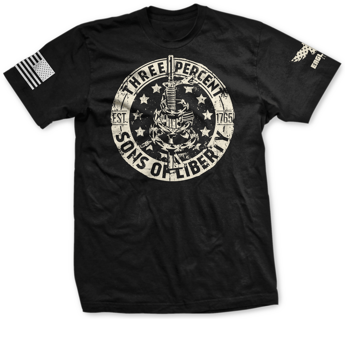 Threeper Sons Of Liberty Tee
