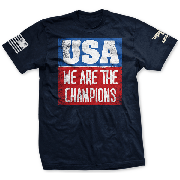 USA - We Are The Champions Tee