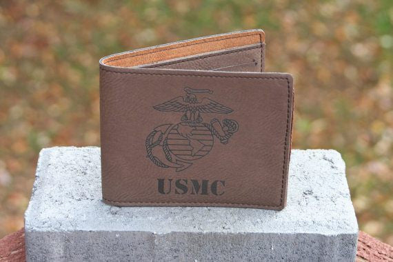 Wallet USMC Leather