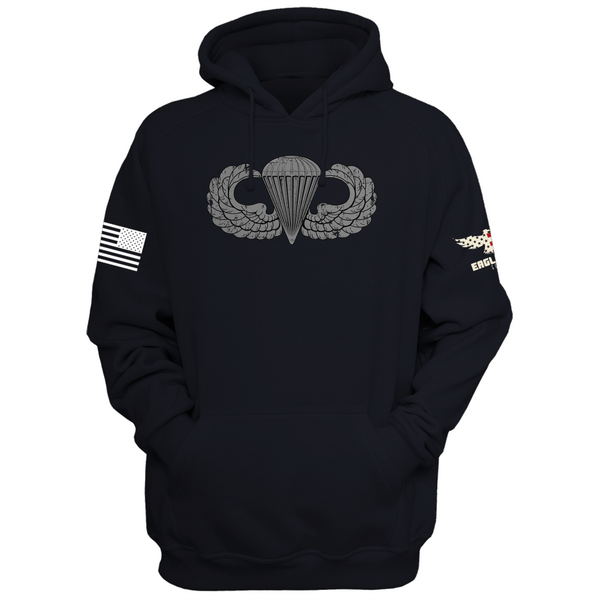 U.S. Army Jump Wings Badge Hoodie