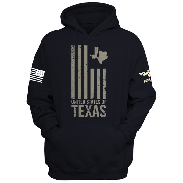 United States Of Texas Hoodie