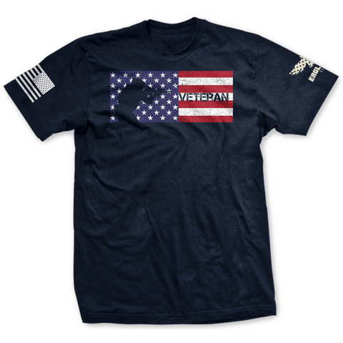 Image of Veteran Flag USA Tee Limited