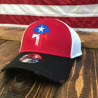 Vintage Mesh Texas Fearless Patriot