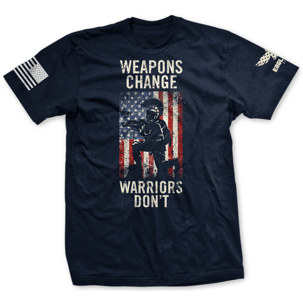 Weapons Change Warriors Don't Tee