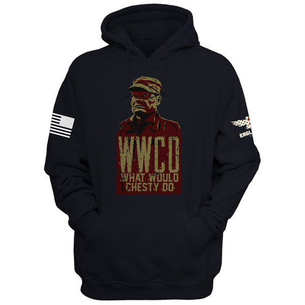 What Would Chesty Do? Hoodie