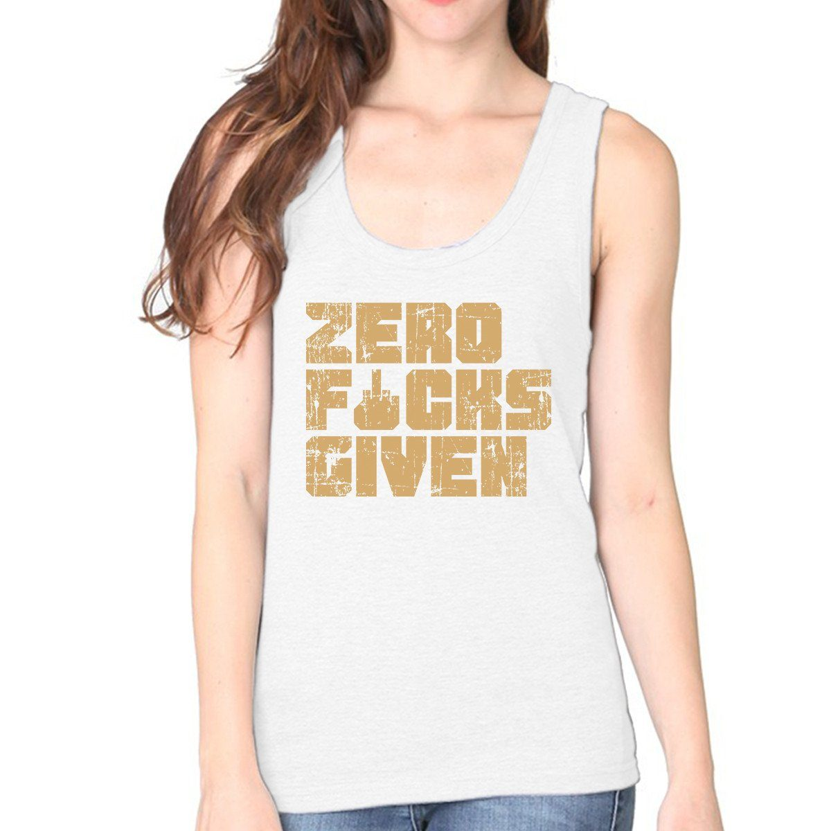 'Zero F&#$ Given' Women's Tank Top