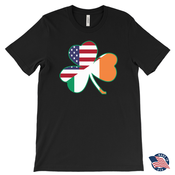 Irish American Flag Shamrock Shirt
