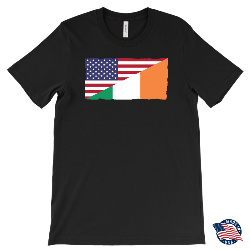 Irish-American Flag Shirt