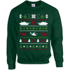 Army Themed Ugly Christmas Sweater