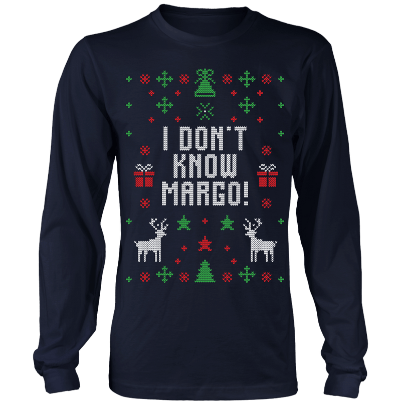 I Don't Know, Margo! Ugly Christmas Sweater