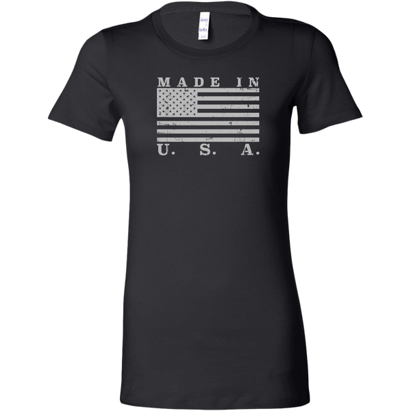 Made In USA Flag Women's T-Shirt