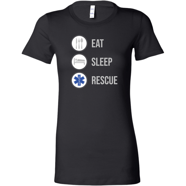 Eat Sleep Rescue EMT Women's T-shirt