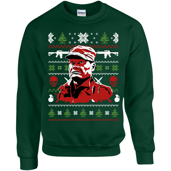 Chesty Puller's Ugly Christmas Sweater