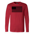 The Black USA Flag Long Sleeve
