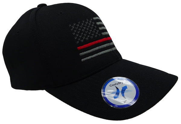 Fire Fighter Flag Flex Fit Cap