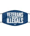 Veterans Before Illegals Face Mask