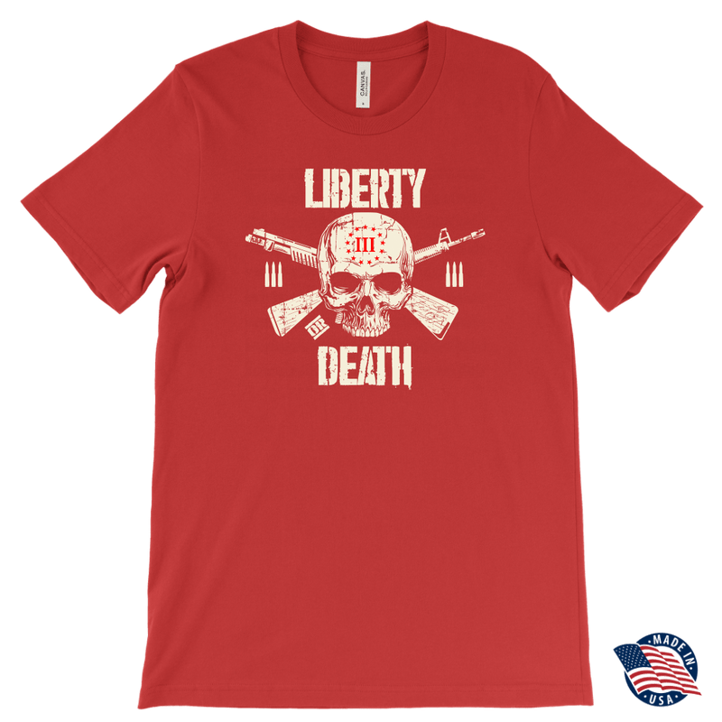 Threeper Liberty or Death Tee