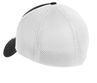 Stretch Mesh BLACK/WHITE NEW ERA HAT